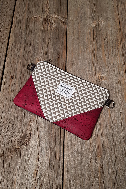 Sable Clutch - Triangles x Wine