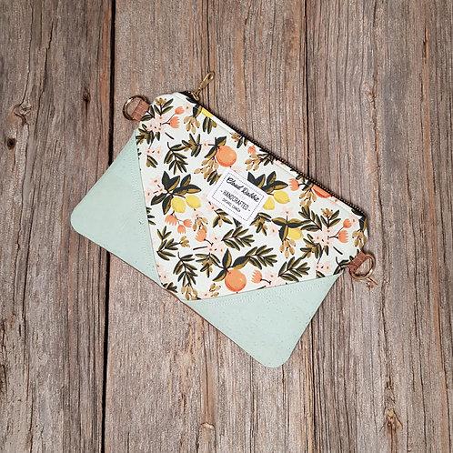 Sable Clutch - Mint Citrus Floral x Mint