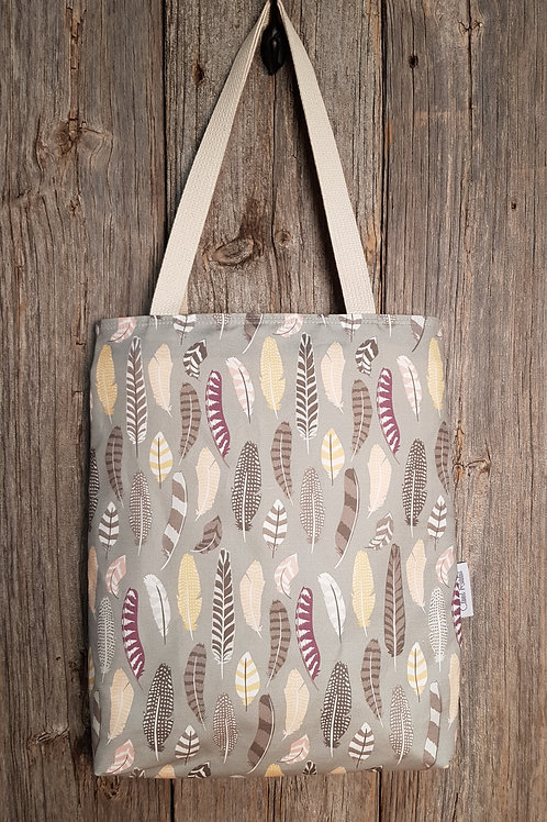Canvas Tote - Roam Feathers