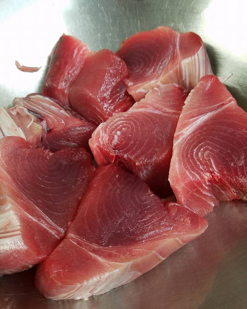 Prepping Tuna