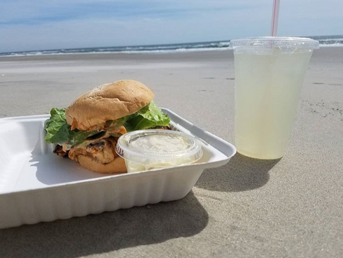 Lunch at the beach!