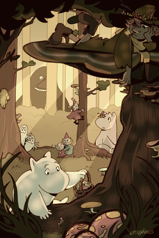 moomin hunting
