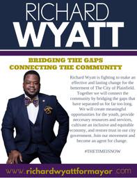 Richard Wyatt for Mayor | June 8, 2021