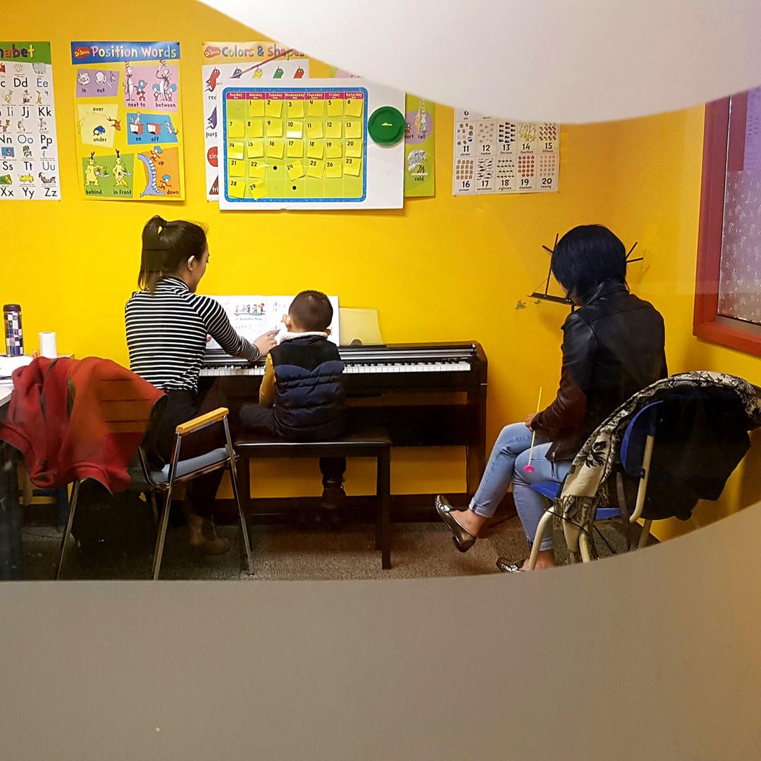 1 on 1 Piano Lesson
