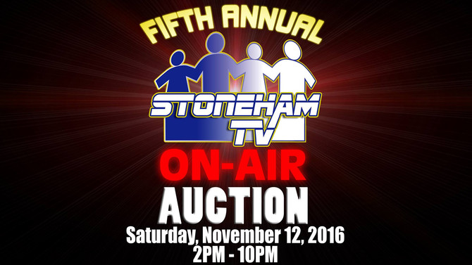 5th Annual On-Air Auction
