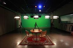 Control Room Green Screen