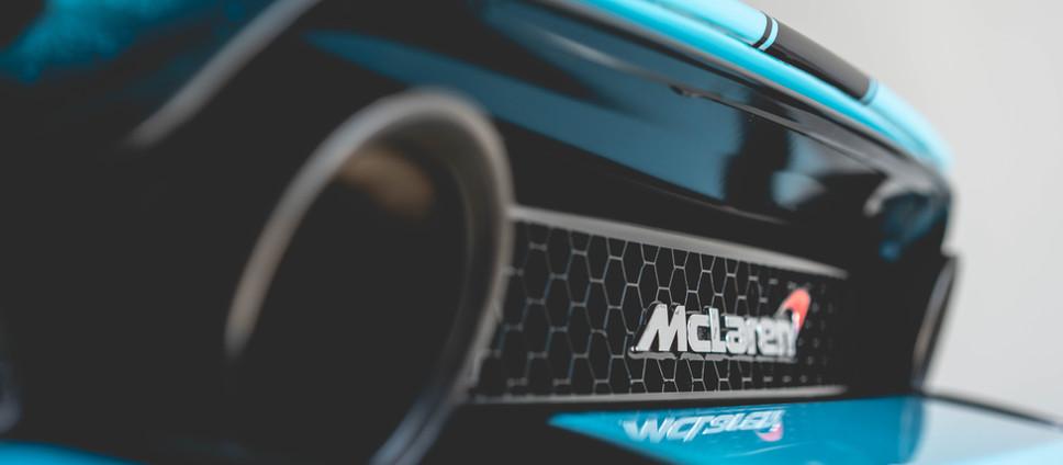 Wayland's McLaren 720s Misfire