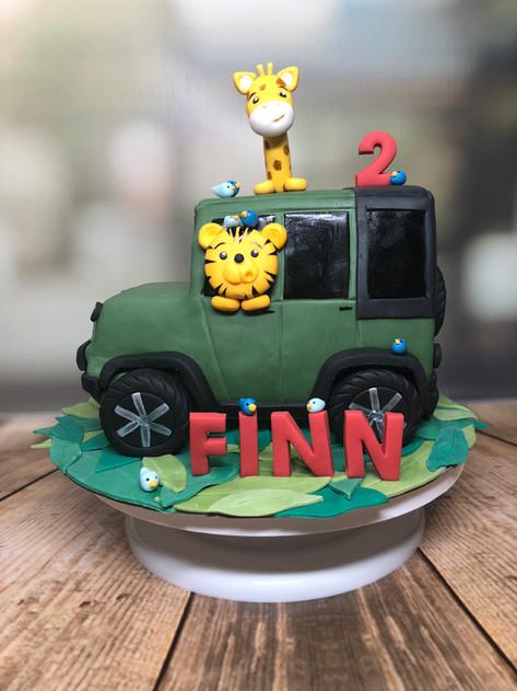 Jeep Safari Torte