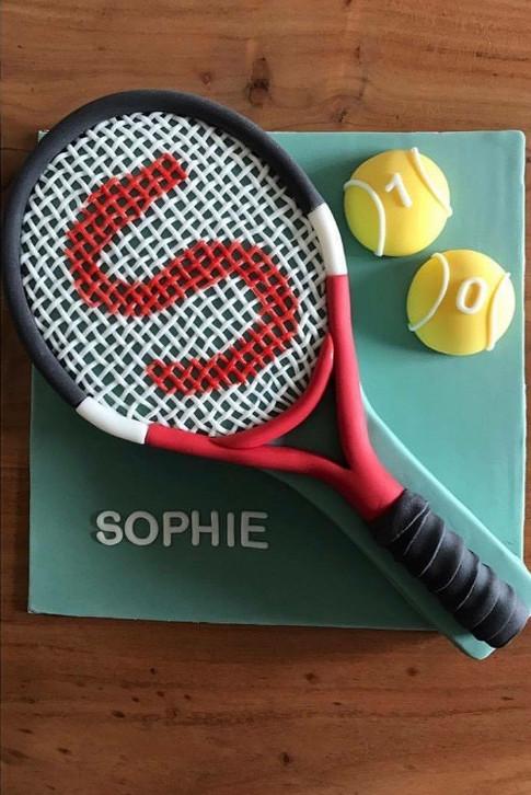 Motivtorte Tennis