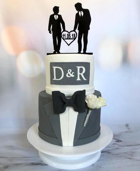 Hochzeitstorte Gentleman