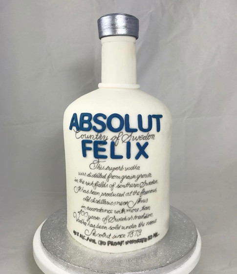Motivtorte Absolut Vodka