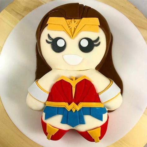 Motivtorte Wonder Woman