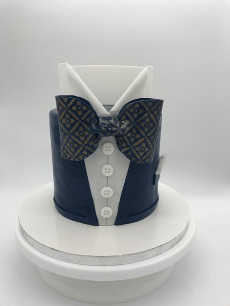Motivtorte Smoking cake