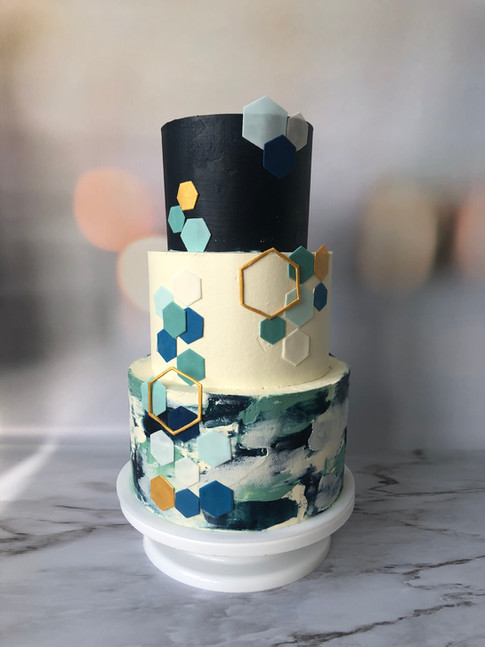 Blue Motion cake