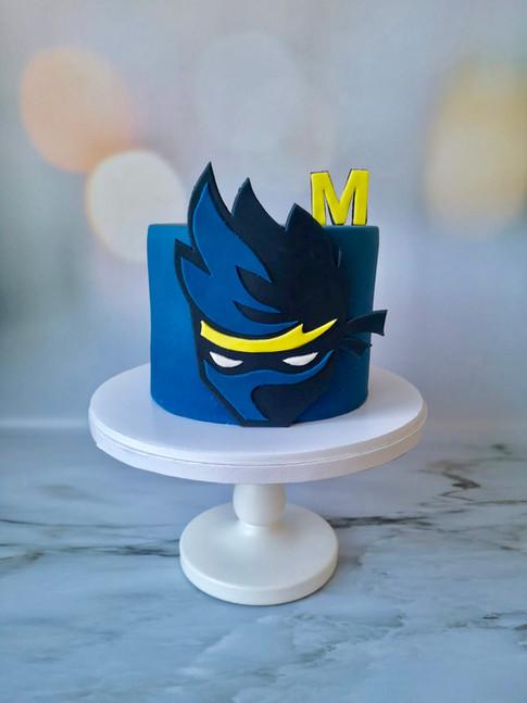 Motivtorte Ninja Cake