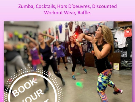 FREE Zumba, Cocktails & Shopping