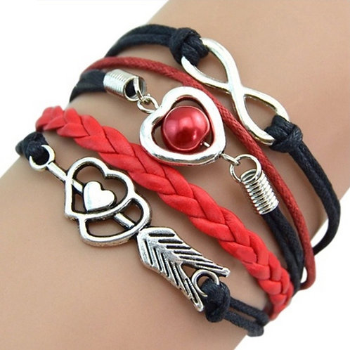 Cupid's Arrow Love Bracelets
