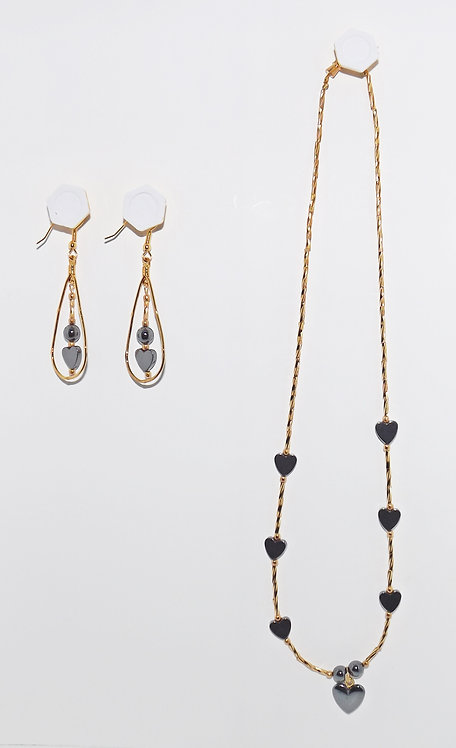 Hemalyke Necklace & Earrings