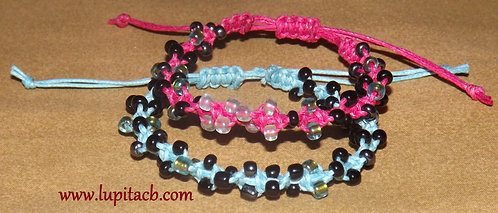Blue & Pink Twist