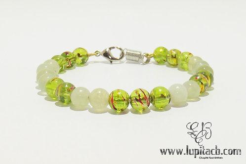 Jade Green - Wire Bracelet