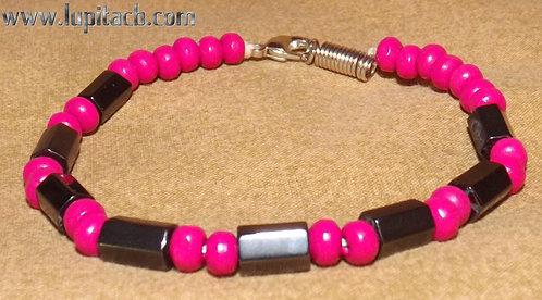 Pink/ Hematite