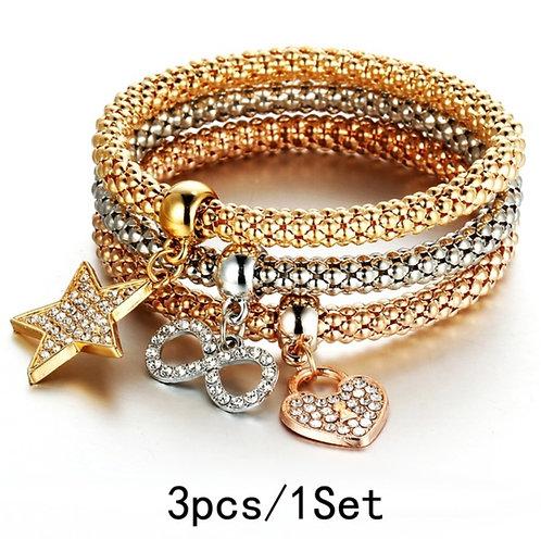 Glitter 3Pcs/1Set