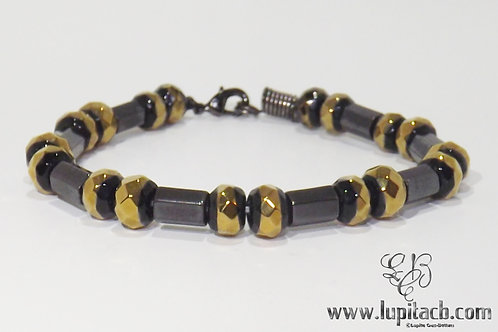 Golden-Black Stone/ Hematite