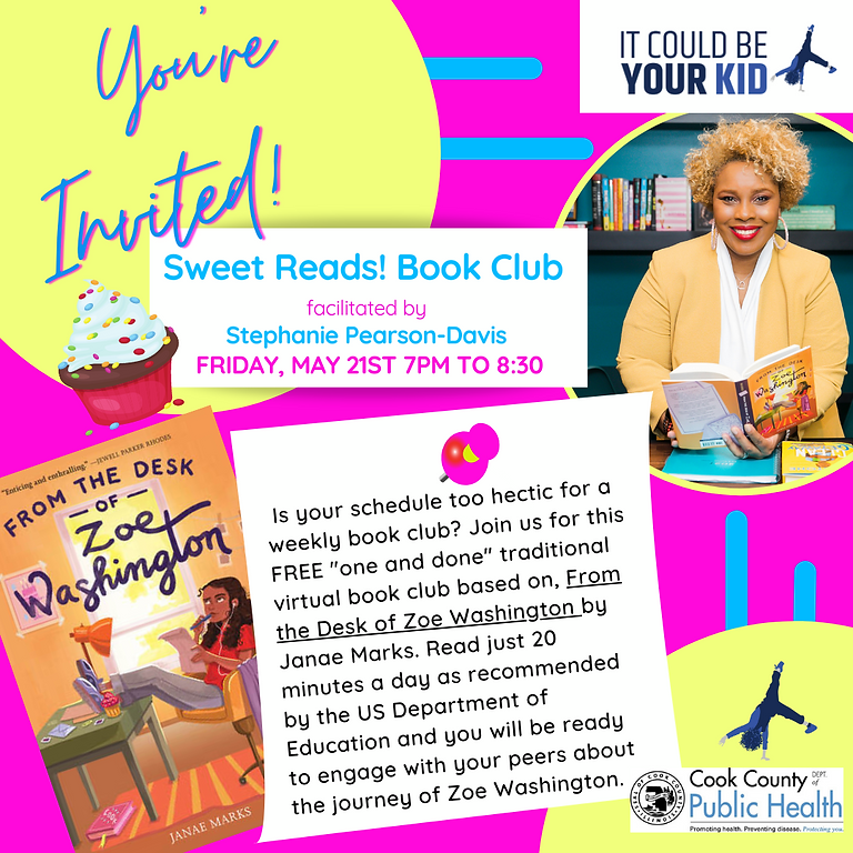 Sweet Reads! Book Club presents From the Desk of Zoe Washington