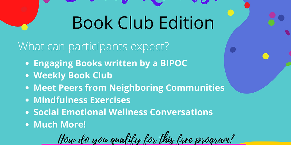 Sweet Reads: Book Club Edition REGISTRANTS MUST LIVE IN BLOOM, BREMEN or THORNTON TOWNSHIPS
