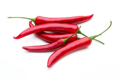 Bio Chili/Peperoni Amando (leicht-scharf), ca. 100g