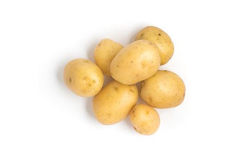 Bio Raclette-Kartoffeln gewaschen, ca. 1kg