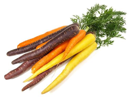 Bio Karotten farbig, ca. 500g