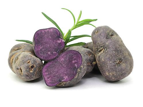 Bio Kartoffeln blau (St.Galler), ca. 500g