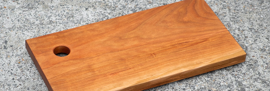 Small Cherry Cutting Board