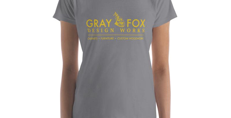 Gray Fox Fashion Fit T Shirt