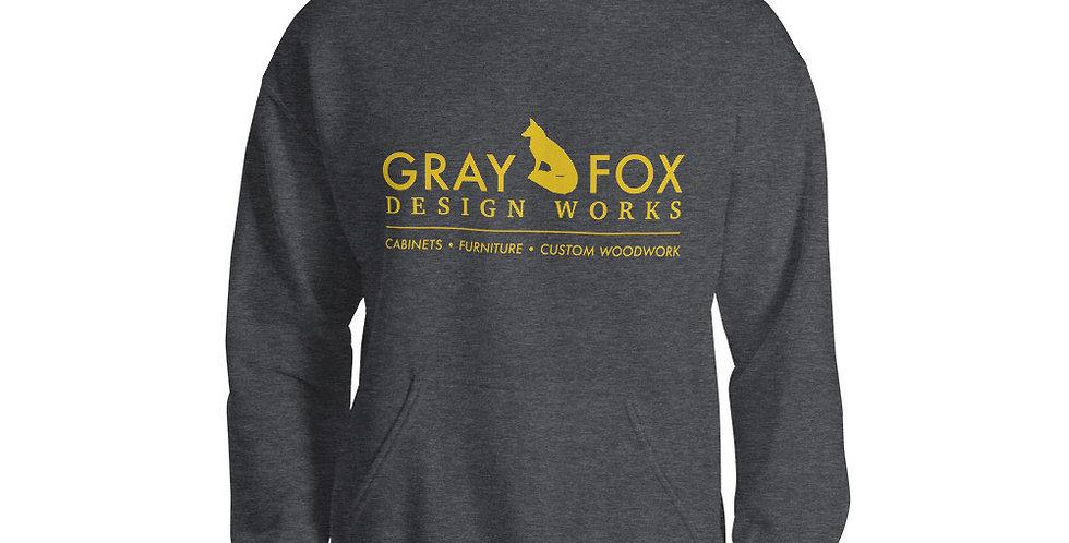 Gray Fox Hoodie
