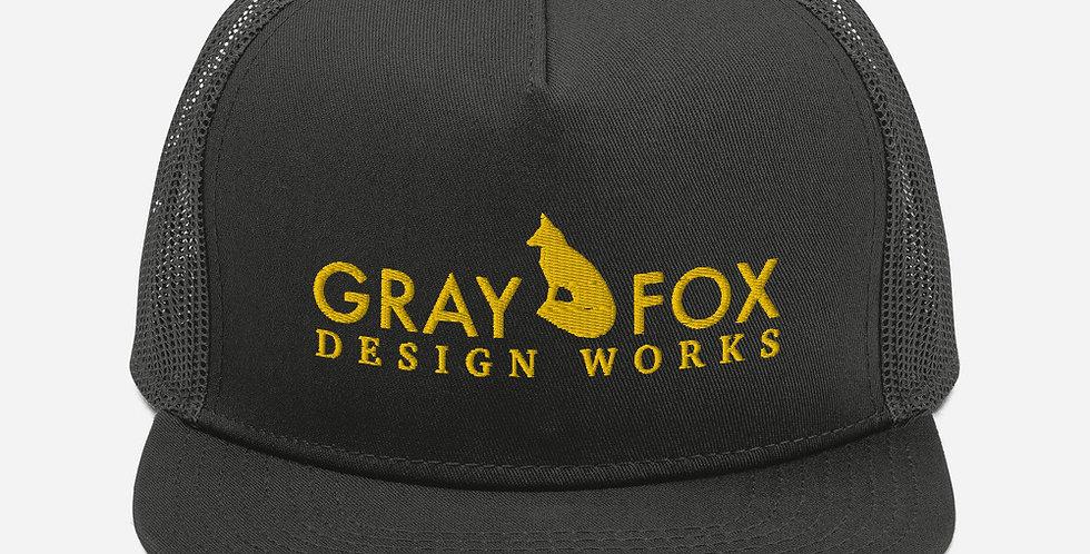 Gray Fox Trucker Hat