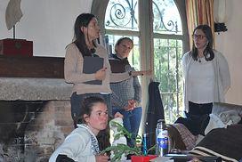 Miroslava de Alvear, Sommelier, disertan