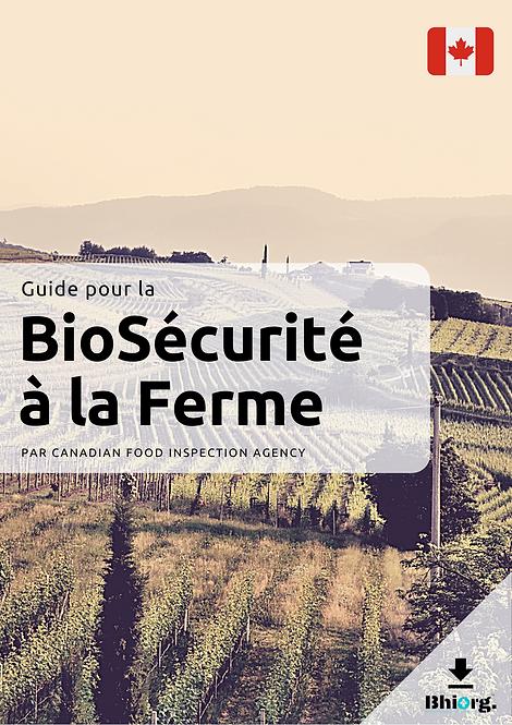 Guide BioSécurité Ferme