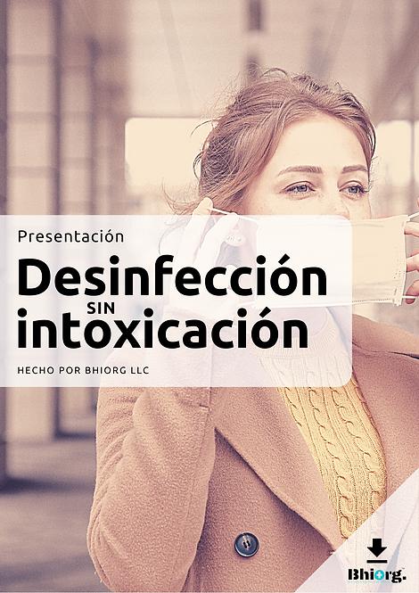 Desinfección sin intoxicación