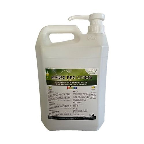 Gel Hydro biocide odeur Citron