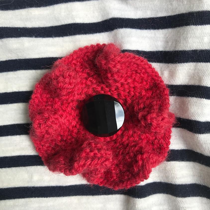 Poppy Learnshop in support of the Canadian Legion- Alton Branch