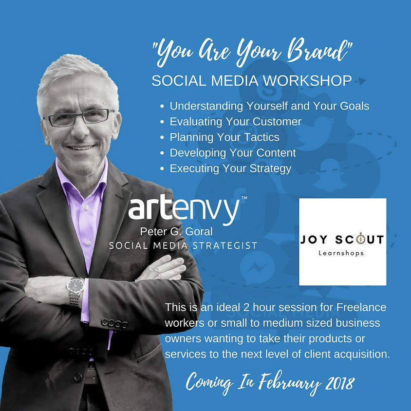 """""""You Are Your Brand"""" -Social Media Learnshop"""
