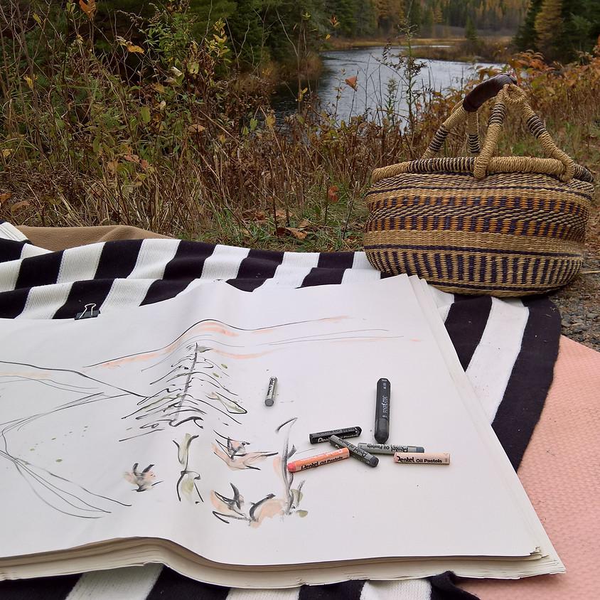 Get Creative & Get Outside- En Plein Air Sketching and Hike