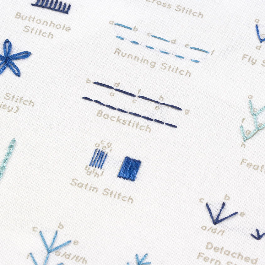 Beginner Embroidery with Kiriki Press