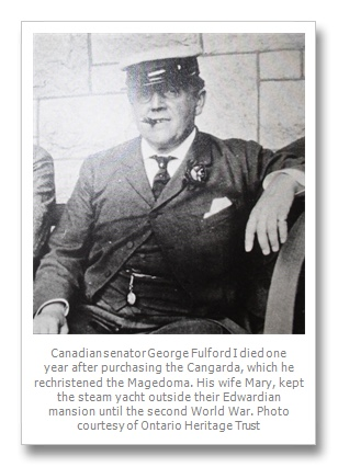 Captain George T Fulford