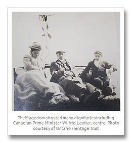 George Fulford,Fulford Place,Brockville,Museum,Pink Pills for Pale People,Tourism,1000 Islands,Magedoma,steam yacht,Cangarda,Thousand Islands,