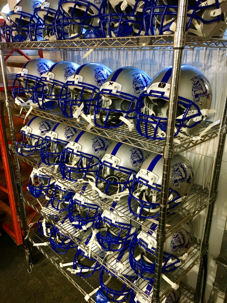 Riverside Brookfield FB Helmets