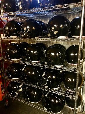 Muchin College Prep FB Helmets
