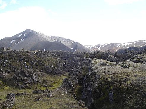 vulcanic rocks in iceland